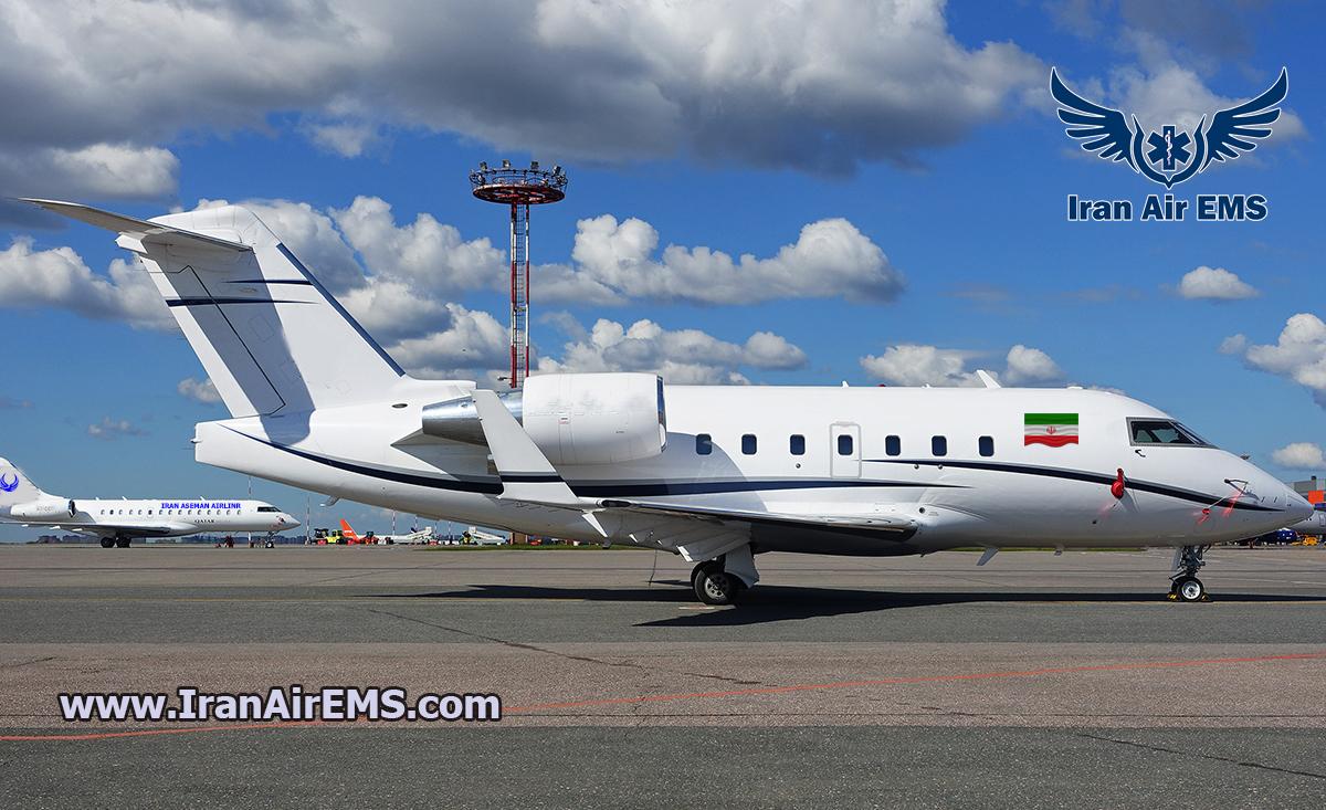 هواپیما چلنجر 604 – Bombardier Challenger 604 challenger 604 IR آمبولانس هوایی خانه challenger 604 IR