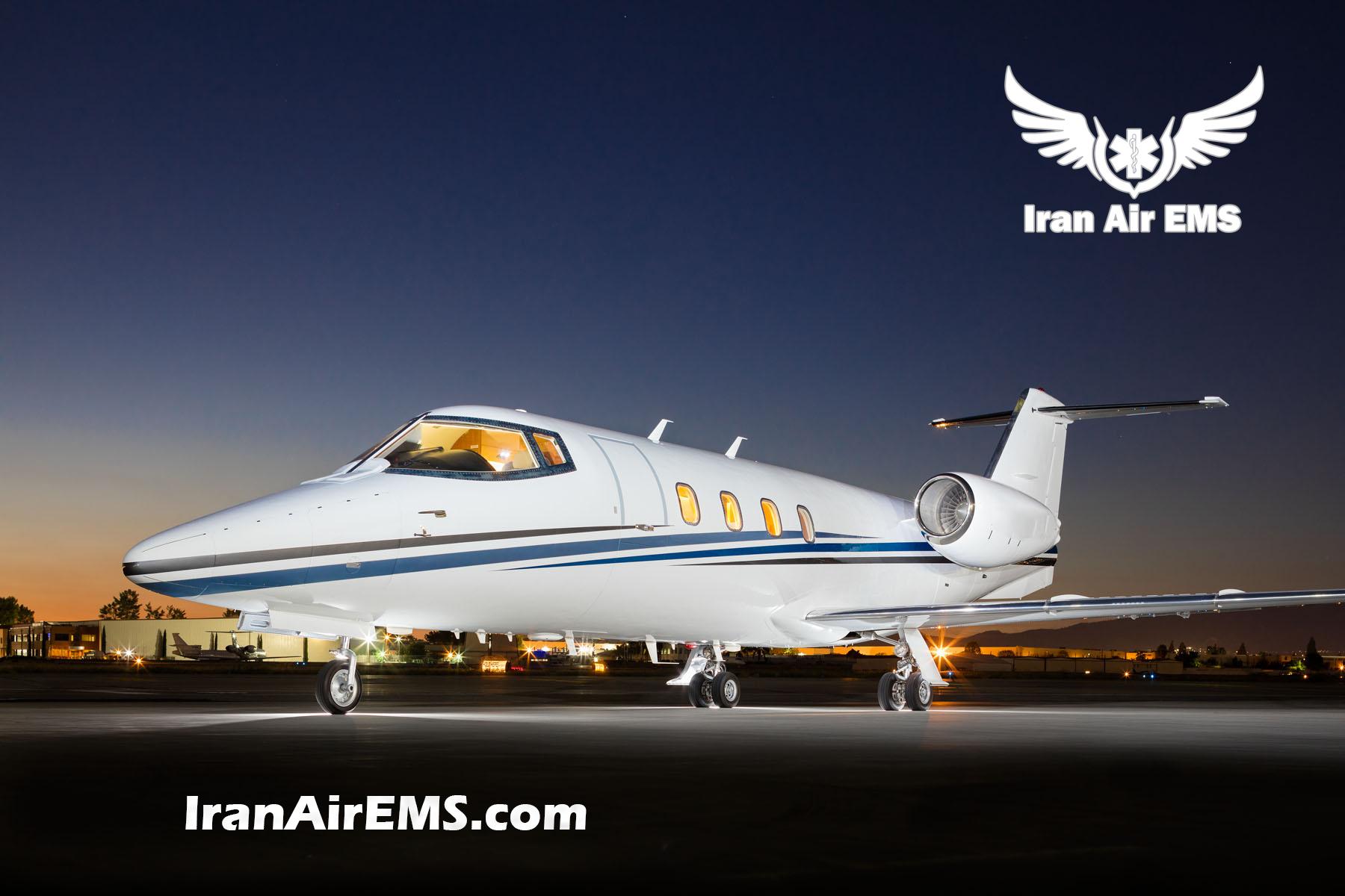 لیرجت جت های لیرجت 55/35/36 – Learjet learjet 55 1 آمبولانس هوایی خانه learjet 55 1