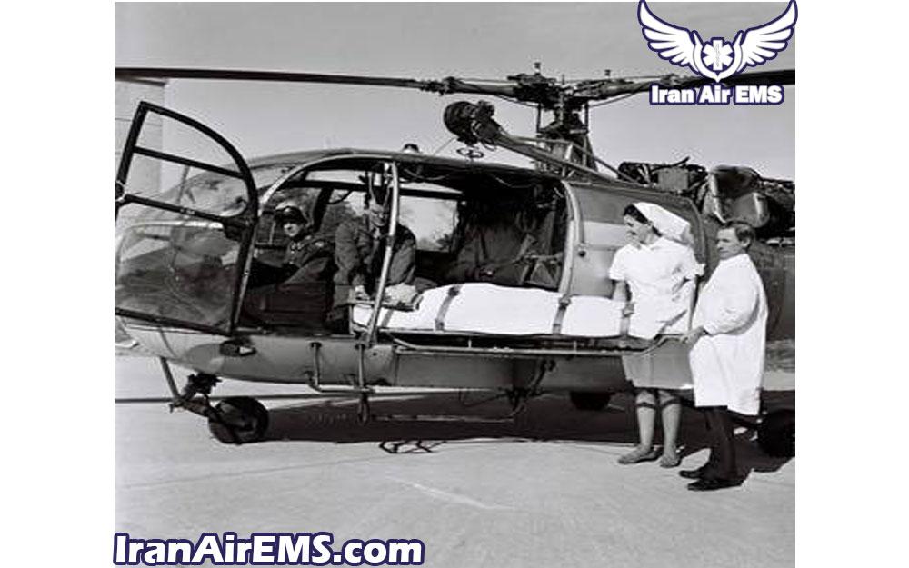 اولین هلیکوپتر امداد