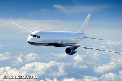 انتقال هوایی بیمار از شهرستان مشهد به شیراز